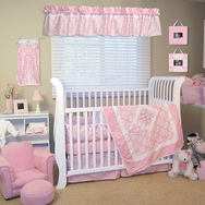 Versailles Pink Crib Bedding Collection by Trend Lab