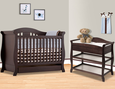 Vittoria Convertible Crib Collection