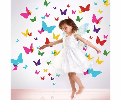 Wall Candy Arts Flutterflies 2 Wall Stickers