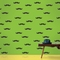 Wall Candy Arts  Mustache Removable Wallpaper