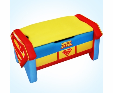 Warner Brothers Superman Icon Toy Box