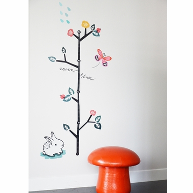 Wee Gallery Growing Like A Weed Growth Chart Wall Decal Free Shipping