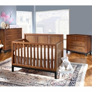 Westwood Design Park West Convertible Crib In Walnut Free
