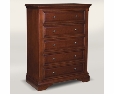 Westwood Design Donnington 5 Drawer Chest in Virginia Cherry