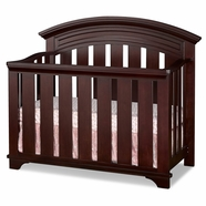 Westwood Design Geneva Convertible Crib in Chocolate Mist