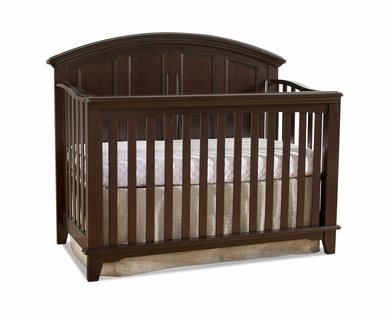Westwood Design Jonesport Convertible Crib in Chocolate Mist