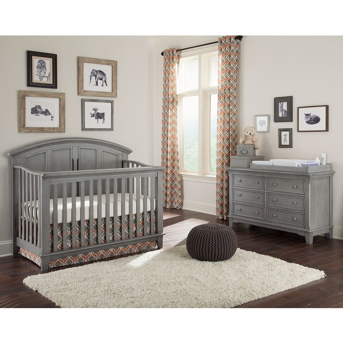design crib convertible cribs westwood foundry pewter p brushed