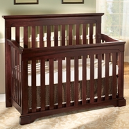 Westwood Design Kingston Convertible Crib in Chocolate Mist
