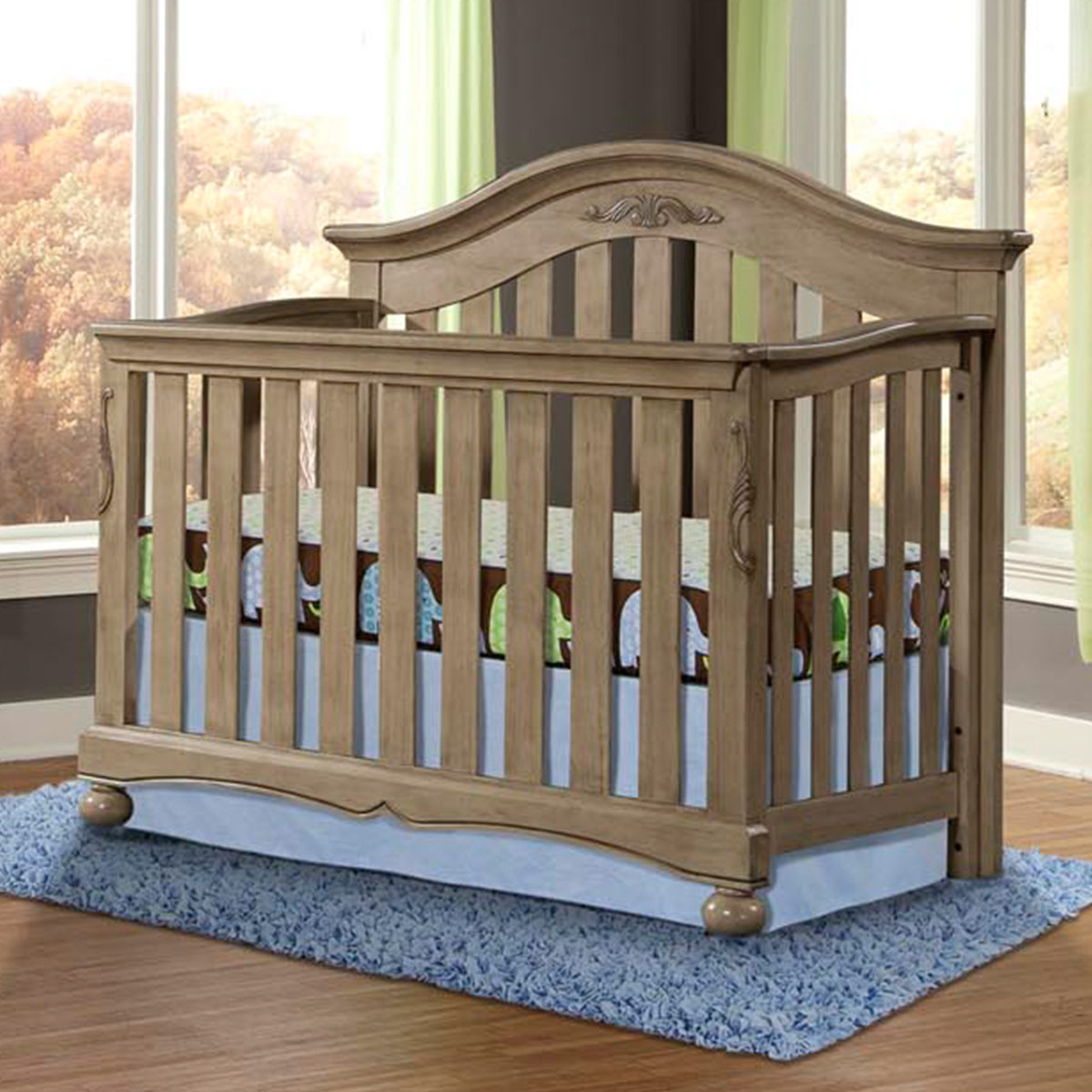 Westwood Design Meadowdale 4 In 1 Convertible Crib In Vintage FREE SHIPPING