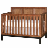 Westwood Design Park West Convertible Crib in Walnut