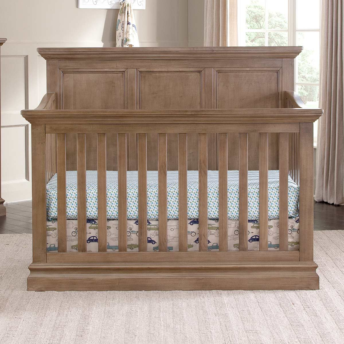 nursery black crib cribs products ridge westwood dresser and piece double set pine