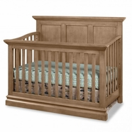 Westwood Design Pine Ridge Convertible Panel Crib in Cashew