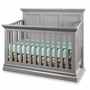 Westwood Design Pine Ridge Convertible Panel Crib in Cloud