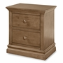 Westwood Design Stone Harbor 2 Drawer Nightstand in Cashew