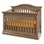 Westwood Design Stone Harbor Convertible Panel Crib in Cashew
