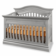 Westwood Design Stone Harbor Convertible Panel Crib in Cloud