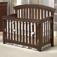 Westwood Design Stratton Convertible Crib in Chocolate Mist