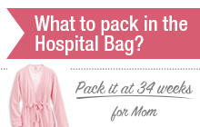 What to Pack in the Hospital Bag