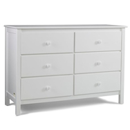 White Dressers & Chests of Drawers