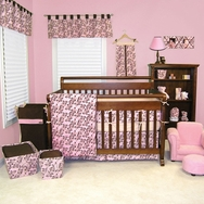 Willow Pink Crib Bedding Collection by Trend Lab