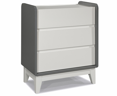 Zutano Tivoli 3 Drawer Dresser in Cloud & White