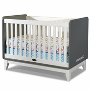 Zutano Tivoli Convertible Crib in Cloud & White