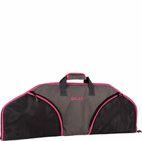 """Allen 36"""" Compact Bow Case Hot Pink and Black"""
