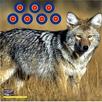 American Whitetail Tough Target Face Coyote 18x18