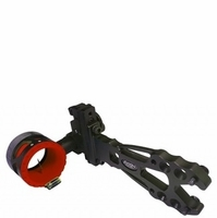 Axion Shift Single Pin .019 Bow Sight Black with Red