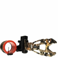 Axion Shift Single Pin .019 Bow Sight Lost Camo with Red