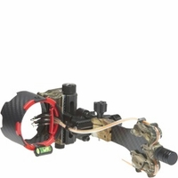AXT Archer Xtreme Carbon Carnivore 5 Pin Bow Sight APG Camo