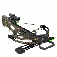 Barnett Quad Edge S Camo Crossbow Package with 4x32 Scope