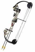 Bear Warrior Youth Compound Bow Set Realtree APG Camo