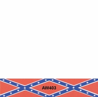 Easy-Eye Rebel Flag Arrow Wraps