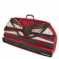 Elevation Altitude Bow Case Black with Red