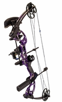 G5 Quest Radical Compound Bow Package Realtree All Purpose Purple