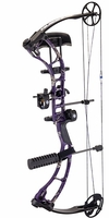 G5 Quest Storm Compound Bow Package Realtree Purple Camo