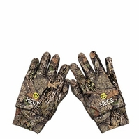 HECS Stretch Fit Gloves Mossy Oak Country Camo