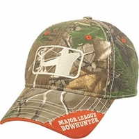 Major League Bowhunter Logo Hat Realtree Xtra Green Camo