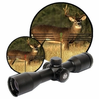 Parker Red Hot Multi-Reticle 3x32 Illuminated Crossbow Scope
