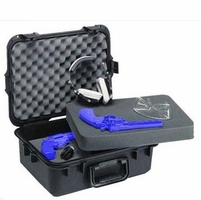 Plano All Weather Case Large Pistol/Access Case w/Deluxe Latches, Black