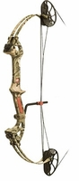 PSE Mini Burner XT Compound Bow Mossy Oak Country Camo