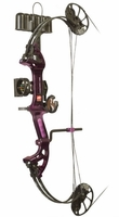 PSE Mini Burner XT Compound Bow RTS Package Purple Rain