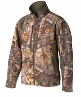 Scentlok Covert Deluxe Windproof Fleece Jacket Realtree Xtra Camo