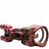 TruGlo Carbon XS 4 Pin Bow Sight Pink w/Light