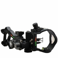 TruGlo Rival Hunter 3 Pin Bow Sight Black