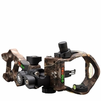 TruGlo Rival Hunter 3 Pin Bow Sight Mathews Lost Camo