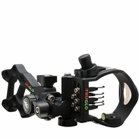 TruGlo Rival Hunter 5 Pin Bow Sight Black