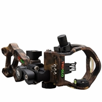 TruGlo Rival Hunter 5 Pin Bow Sight Mathews Lost Camo