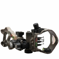 TruGlo Rival Hunter 5 Pin Bow Sight Realtree Xtra Camo